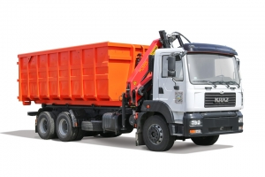 The garbage truck KrAZ-6511H4