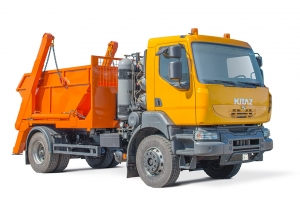 Straddle carrier garbage truck KrAZ-5401H2