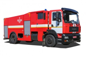 Fire Tanker Truck AC-40 based on KrAZ-5401H2 chassis