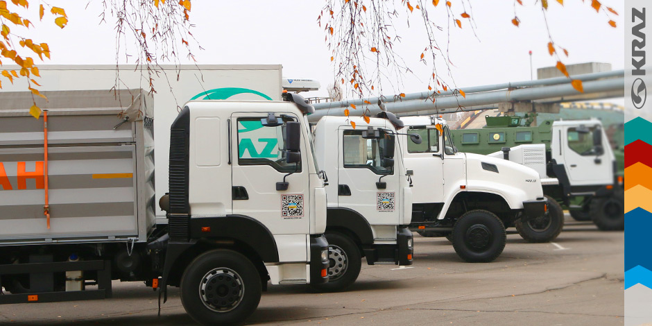 KrAZ trucks for civilian sector