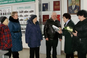 Kremenchug Automobile Plant Honors its Veterans