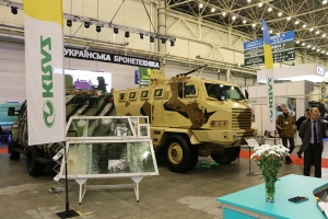 Military KrAZ Vehicles Demonstrate National Defence Capabilities