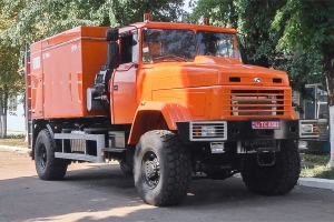 Mobile power washer (MPW) based on the KrAZ-5233HE chassis for Yeristovskyi MPP