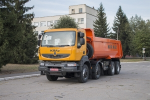 KrAZ-7133C4 dump trucks — for MPP