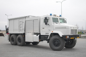 New Mine Clearance Vehicle KrAZ: Armor Protection and More Functions
