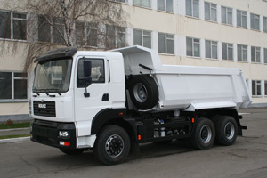 The KrAZ-7511С4 Dump Truck Goes to Work at Khmelnitsky Water Supply Company