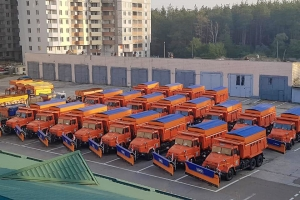 Another batch of combined road machines were shipped to Kyiv region road authority