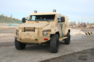 """AutoKrAZ"" Transfers the KrAZ-Spartan Armored Vehicle to Forensic Examiners of the Ministry of Interior"