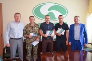 Tickets to Champions League Match from Konstantin Zhevago Awarded at KrAZ