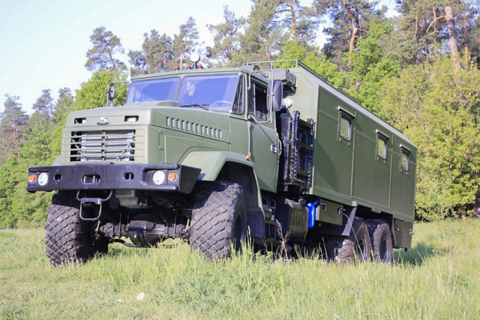 SA-10U based on the KrAZ-63221 automobile chassis for Armed Forces of Ukraine