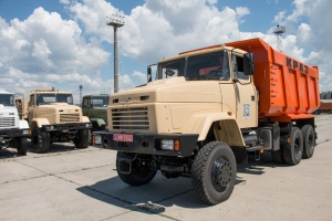 """AutoKrAZ"" Ships AWD KrAZ Dump Trucks to Mining and Concentrating Company"