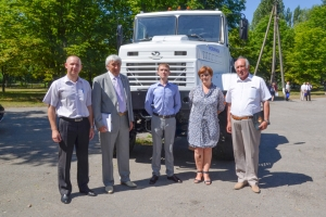 KrAZ Supports Technology Development in Agriculture