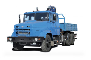 KrAZ-65053 with load-handling system