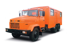 Workshop truck KrAZ-65053