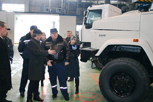 KrAZ Ready to Become Basic Vehicle for in the Fleet Public Service for Emergencies of Ukraine