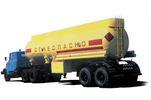 Road oil tankers KrAZ-6443, KrAZ-6446