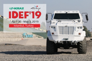 """KrAZ"" Invites to Visit its Stand at IDEF 2019"