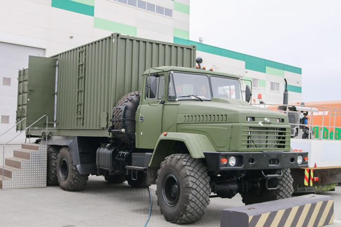 MBPK based on KrAZ-63221 chassis - for the Armed Forces of Ukraine
