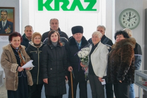 KrAZ Employee Active and Vigorous in his 90s