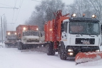 KrAZ Vehicles Clear Roads and Ensure Safe Driving