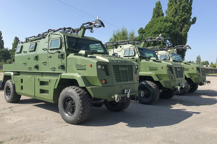 The Batch of KrAZ-Shrek-M exported