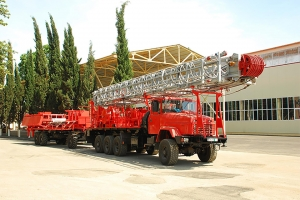 Testsing of the KrAZ-7140H6 truck chassis at AZNEFTEMASH — are successful