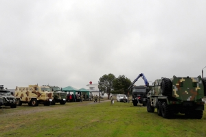 KrAZ Vehicles Put to Test during Senior Staff Meeting of State Border Service