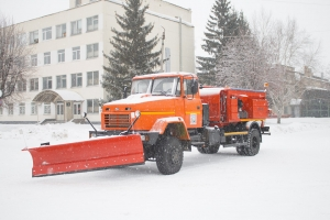 Chernigov Township Council Gets New Special Vehicle KrAZ