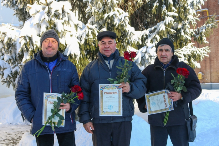 Certificates of Merit and Awards for Professionalism and Endurance