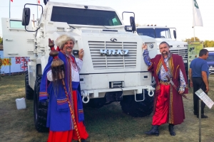 KrAZ at Sorochintsy Fair