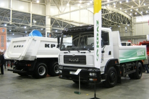 KrAZ Introduces its Advanced Vehicles to Municipal Workers and Miners