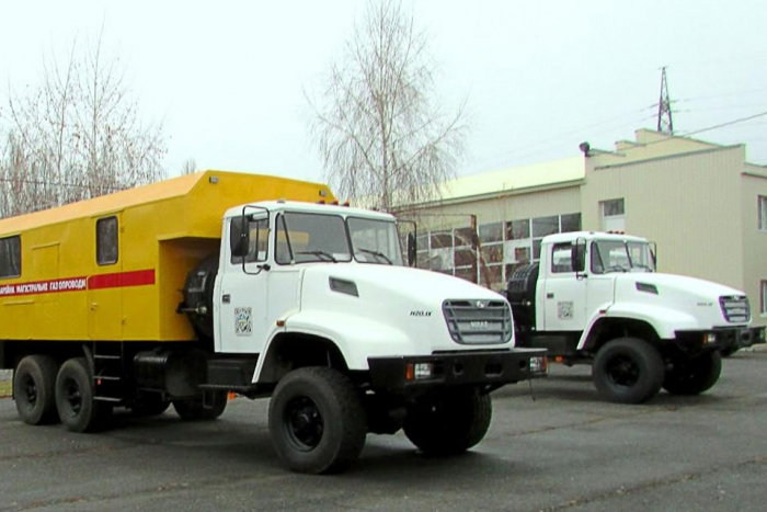 "New KrAZ-Based Special Vehicles Come to ""Ukrtransgaz"""