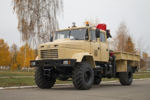 "Unique Special Vehicle for Use in Open-Pit Mine Assembled at ""KrAZ"""