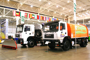 Successful Debut of KrAZ Special Vehicles