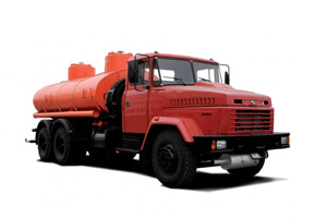 Fuel servicing truck[br][/br]KrAZ-65053