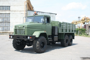 Off Road Trucks KrAZ to Be Operated in an African Country