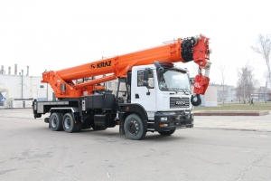 New 40 tonne KrAZ Truck Crane! The Most Powerful in the Range