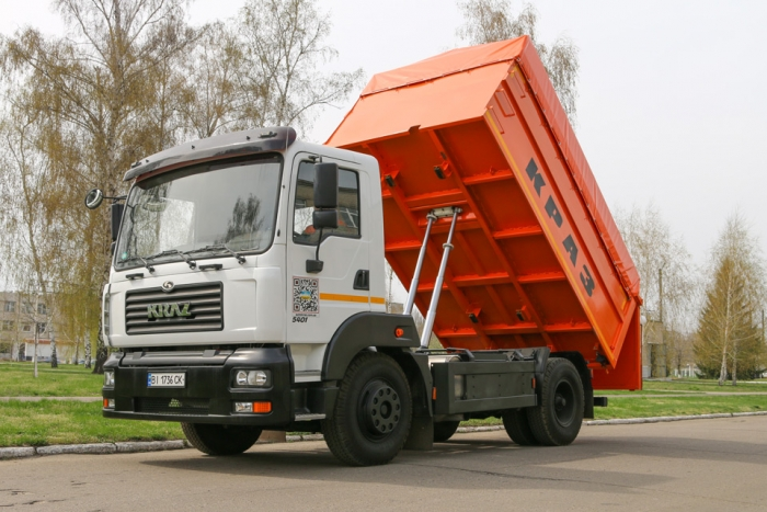 The dump truck-grain carrier KrAZ-5401C2 can be purchased with a discount up to 40%