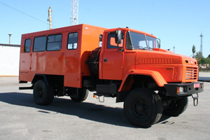 """AutoKrAZ"" Builds All-Terrain Buses for Severniy Mining and Concentrating Company"