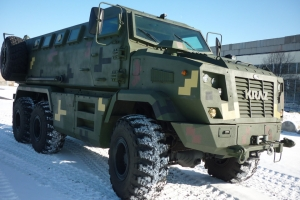 "Advanced Ukrainian Armored Vehicles KrAZ in ""Donbass. Facts of Life"""