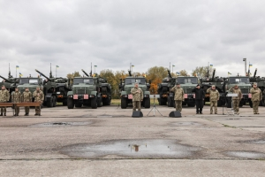 The KrAZ-6446 Truck Tractors to Carry Tanks of the AFU