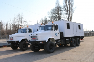 KrAZ Special Vehicles for Donbass