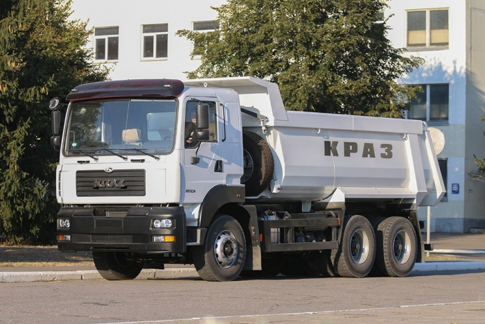 KrAZ-6511C4 will work at coal processing plants