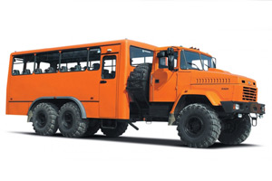 The wagon truck KrAZ-63221