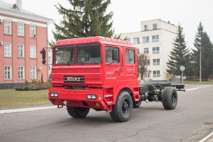 New Off Road Chassis КrАZ-5401НЕ Added to KrAZ Line-Up