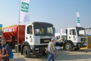 Rewarding Participation of KrAZ at AgroExpo