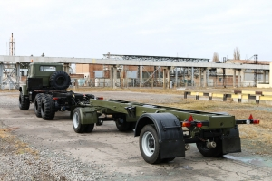 KrAZ Developed and Produced a New KrAZ- А191Н2 Trailer