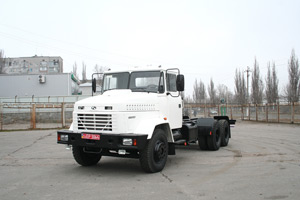 KrAZ Chassis Cabs Go to Kazakhstan
