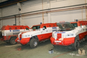 """AutoKrAZ"" Refurbishes OSCE KrAZ-Cougars"