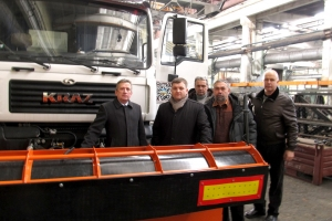 "Visit of ""Ukravtodor"" Representatives to ""AutoKrAZ"""